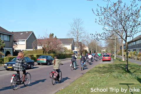 School Trip by Bike