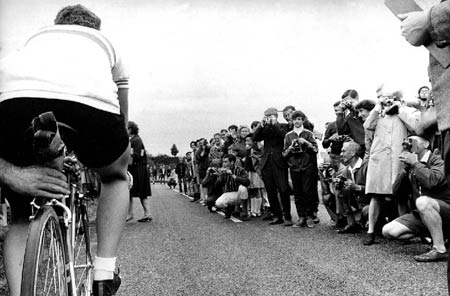 Beryl Burton at Start of 24 Hour Time Trial