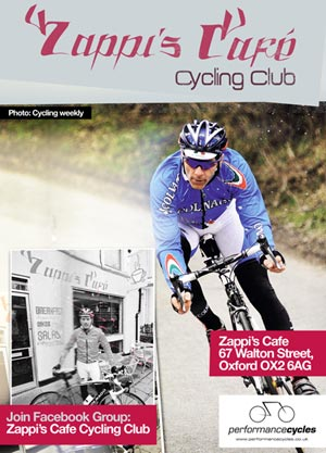 Zappi's Cafe Cycling Club