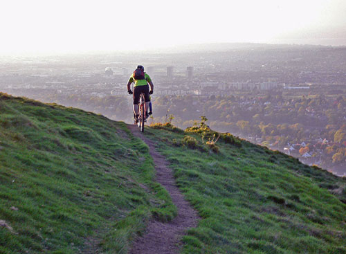 edinburgh cycling